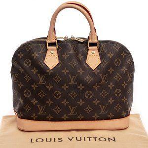 LOUIS VUITTON Alma PM Monogram Canvas Handbag